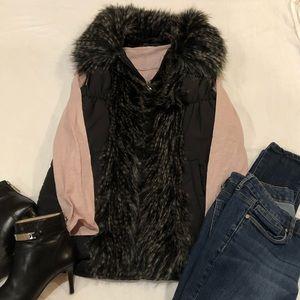 Parkhurst Outdoor Vest with faux fur